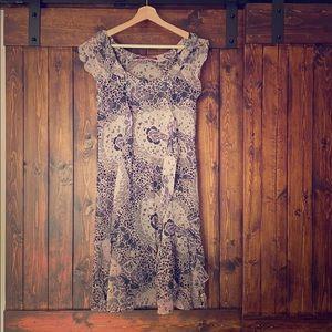 Beautiful dress silk - comptoir des cotonniers
